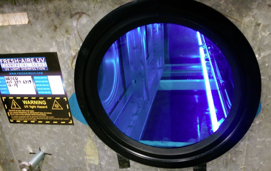 Working Safely With Ultraviolet Lights In An Hvac Work